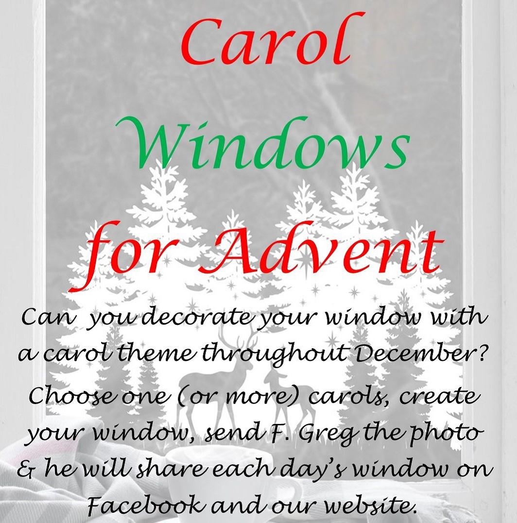 Advent windows